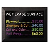 Kamashi Wet-Erase Board, 48 x 36, Black Frame, Sold as 1 Each