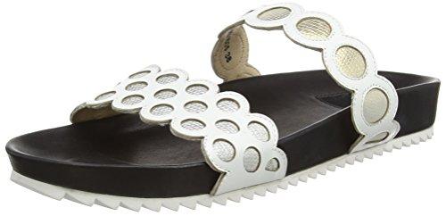 a White Damen Weiß black 031 Pantoffeln Insole Giudecca zq7THwAxP