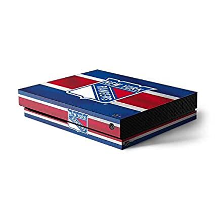 Image Unavailable. Image not available for. Color  New York Rangers Xbox  One X Console Skin ... 050b27471