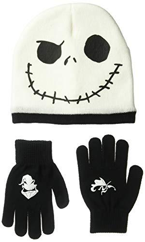Nightmare Before Christmas  Jack Skellington Winter Beanie & Glove Set