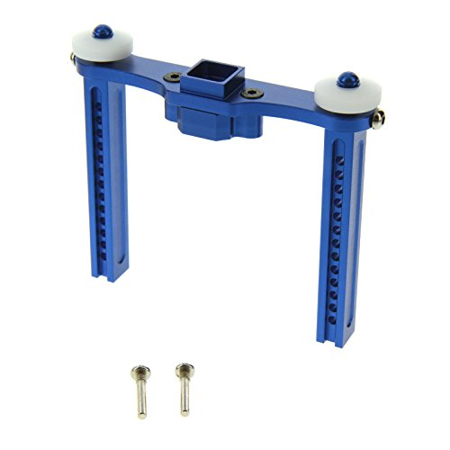 GPM Racing 25mm Rear Body Post for 1:10 Traxxas E Revo + Other TRX Models, Blue