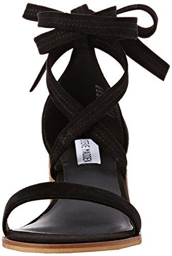 Steve Madden Rizzaa Sandal - Sandalias Mujer Black (Black)