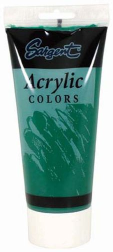 Sargent Art 23-0474 200Ml Tube Acrylic Paint, Emerald Green