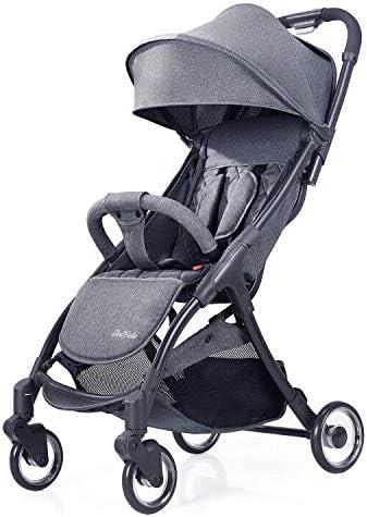Opinión sobre Silla de Paseo Bebé, Plegable Carritos Bebe con una Mano, con Respaldo Ajustable, Arnés de Cinco Puntos