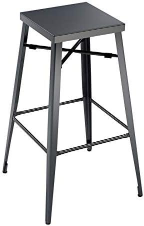 Furniture of America Roth 30-Inch Metal Bar Stool