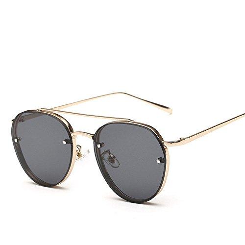 Chahua Lunettes de soleil en métal, la mode la mode lunettes de soleil Lunettes de soleil élégante et fraîche