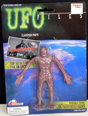 UFO Files - MUSKEL ELIMINATOR figure