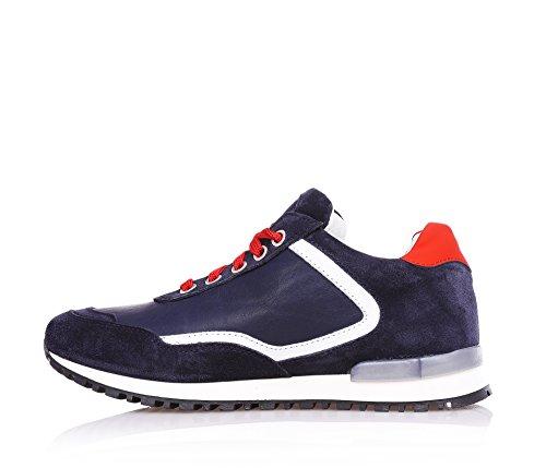 4US - Chaussure de sport bleue, garçons,enfant,hommes