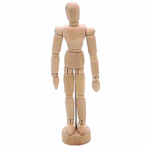 買取デッサン 人形 木製 モデル ドール リアル マネキン 手 可動