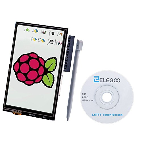 3.5 Lcd (For Raspberry Pi 3 2 TFT LCD Display, Elegoo 3.5 Inch 480x320 TFT Touch Screen Monitor for Raspberry Pi Model B B+ A+ A Module SPI Interface with Touch Pen SC06)