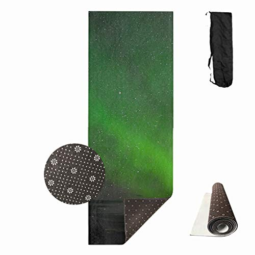 (Shllwe Sky Night Star Yoga Mat - Premium 1cm Print Extra Thick Exercise & Fitness Mat for All Types of Yoga, Pilates & Floor Exercises)