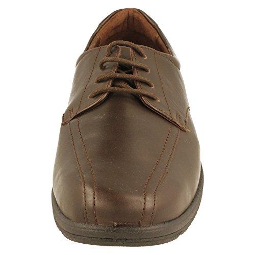 Padders - Sandalias con cuña hombre marrón