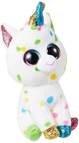 TY Beanie Boo HARMONIE   Speckled Unicorn, 6 #34; regular size
