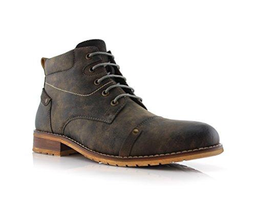 Ferro Aldo Colin MFA806033 Men's Stylish Mid Top Boots for Work Or Casual Wear