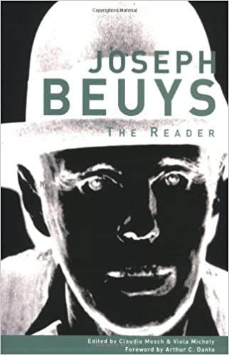 joseph beuys the reader the mit press