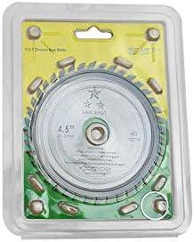 Gulakey カッティングソウ1 *ソウブレードディスク4.5inch / 115ミリメートル40本の歯超硬サーキュラーソーブレードディスクカッターウッド、Aを切断するための