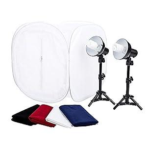 Studiopro 24 photo studio portable table top - Lightbox amazon ...
