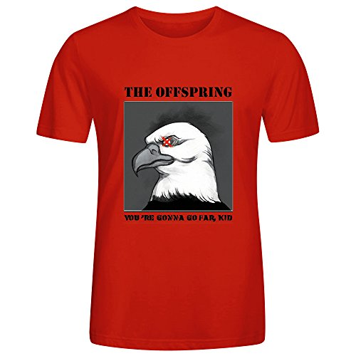 Offspring Youre Gonna Go Far Kid Adult Men T Shirts Red