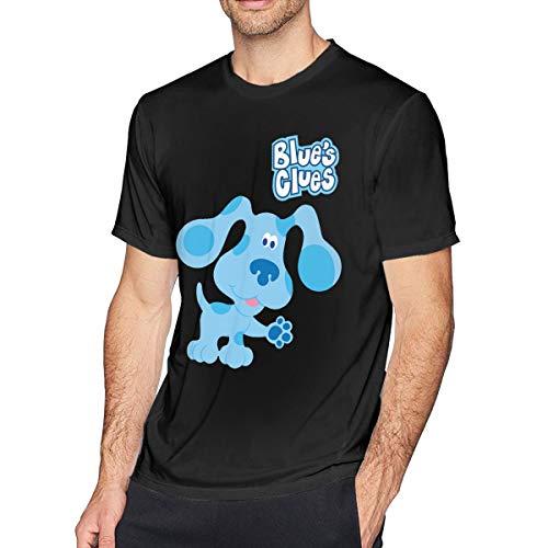 (Younter Blue's Clues Dog Men's Classic T-Shirt Black 5XL )