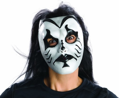 Rubie's Kiss Of Death Adult Mask, White, One (Kiss Of Death Costume)