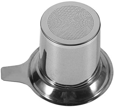 CLoverUS Tea Strainer Filter Stainless Steel Tea Infuser Strainer Filter Drinkware