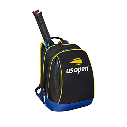(Wilson US Open Backpack, Black/Blue/Yellow)