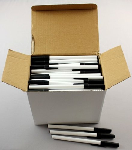 Stick Pens - Bulk Pack - Black Ink (480 Pieces) - Stick Pens - Bulk Pack - Black Ink - Very Good Quality With These Stick Pens Which Make Excellent Office And School Supplies - Smooth, Easy Ink Flow.