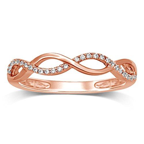 Diamond Jewel 10K Rose Gold 1/