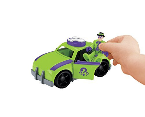 Fisher-Price Imaginext DC Super Friends El Acertijo y coches ...