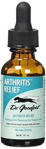 - Dr. Goodpet Homeopathic Arthritis Formula for Dogs & Cats, Small