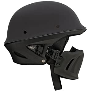 Bell Rogue Unisex-Adult Half Street Helmet (Solid Matte Black, Small) (D.O.T.-Certified)