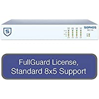 Sophos UTM SG 135 Security Appliance StandardProtect Bundle with 8 GE ports, FullGuard License, Standard 8x5 Support - 1 Year