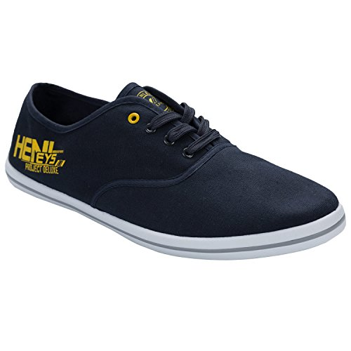 Quiksilver Yellow marino amarillo azul Canvas Men's Navy Shoes Foundation KRMSL373 rAzwPZFrq