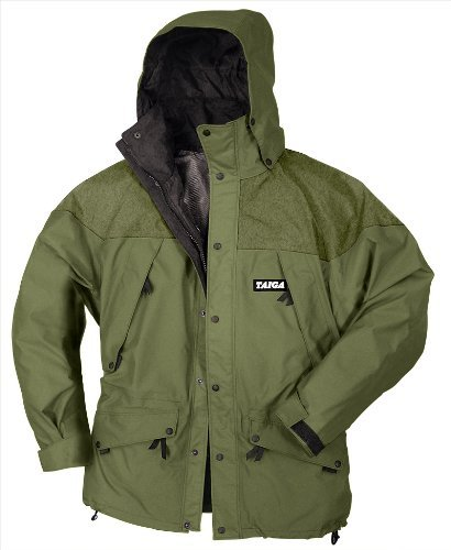 Taiga Men's Val d'Isere Waterproof Jacket (Size: XL, Olive)