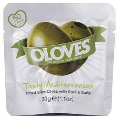 OLOVES OLOVES BASIL & GARLIC 1.10Z CL, 1.1 OZ