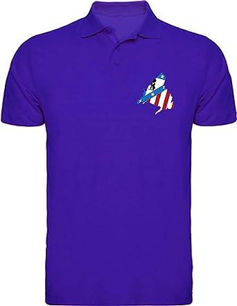 Polo Madrid Atlético Camisetas del Atleti Colchoneras Rojiblancos ...