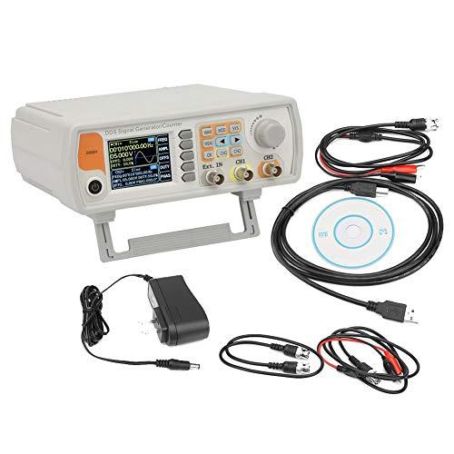 信号発生器、60MHz DDS信号発生器カウンター高精度デュアルチャンネル任意波形機能発生器周波数計266MSa / s(私たち)