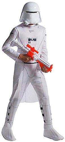 Episode 7 Stormtrooper Costume (Rubie's Costume Star Wars Episode VII: The Force Awakens Value Snowtrooper Child Costume, Large)