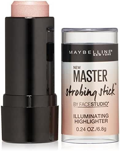 Maybelline New York Master Strobing Stick Illuminating Highlighter, Light Iridescent, 0.24oz