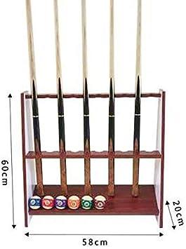 DXZP Dx Taco de Billar en Rack Tradicionales de Suelo de 10 ...