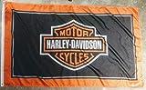 Harley Davidson Motorcycle Flag Banner