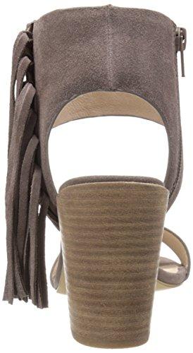 Steven by Steve Madden Luisa de la mujer vestido sandalia Taupe Suede