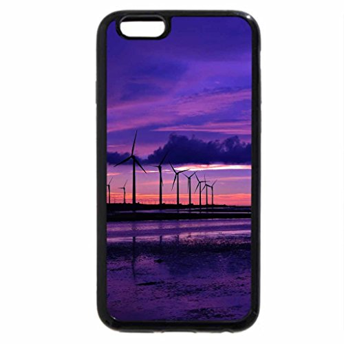 iPhone 6S / iPhone 6 Case (Black) Purple sunset