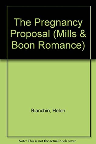 book cover of The Pregnancy Proposal