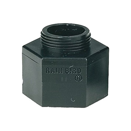 Rainbird Plastic Shrub Adapter with Screen and Female NPT and Nozzle Thread, 1/2