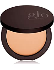 Glo Skin Beauty Pressed Base | Mineral Pressed Powder Foundation with Talc-Free & Paraben-Free Formula | Breathable & Buildable Coverage, Matte Finish