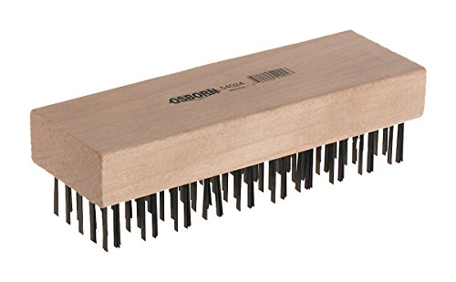(Osborn 00054024SP 54024Sp Scratch Brush, Carbon Steel, 1