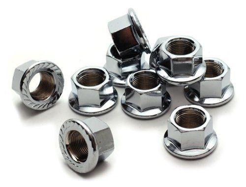 """SBS® Flanged Axle Nut 3/8"""" x 26T 10/bag"""