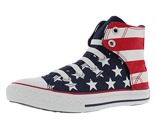 Converse Junior Chuck Taylor Easy Slip On Red/White/Blue (1)