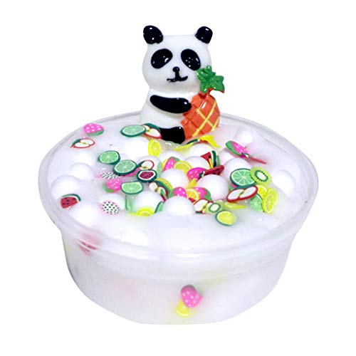Yliquor Beautiful Panda Beads Slime Clay Sludge Toy Kids Adult Stress Relief Plasticin Toys Gift (C)